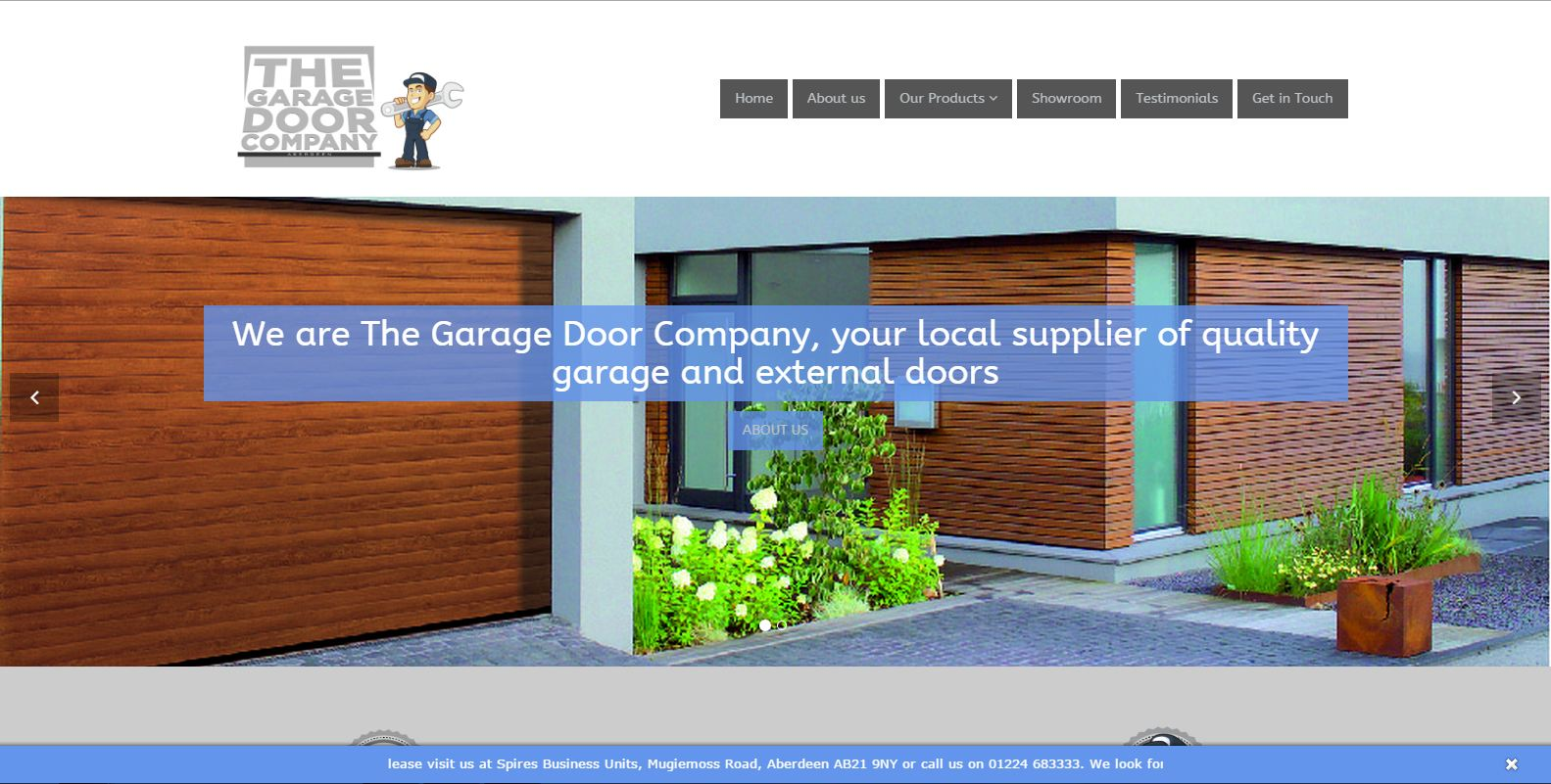 the garage door co